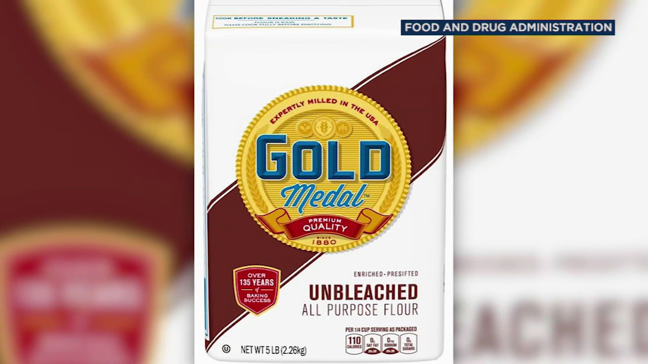 General Mills is voluntarily recalling some bags of its Gold Medal Unbleached Flour because of salmonella concerns.