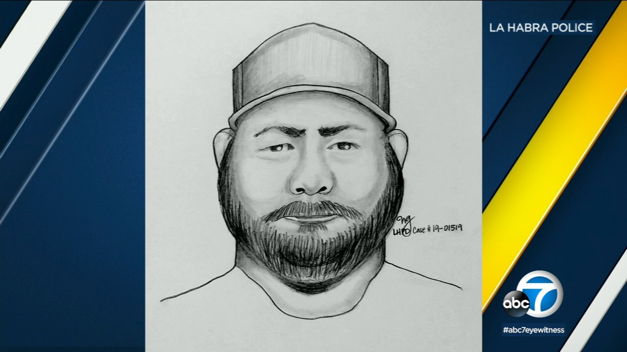 La Habra police released a sketch of a man they say used a pocketknife to try and attack a 17-year-old girl on Friday, Jan. 25, 2019.