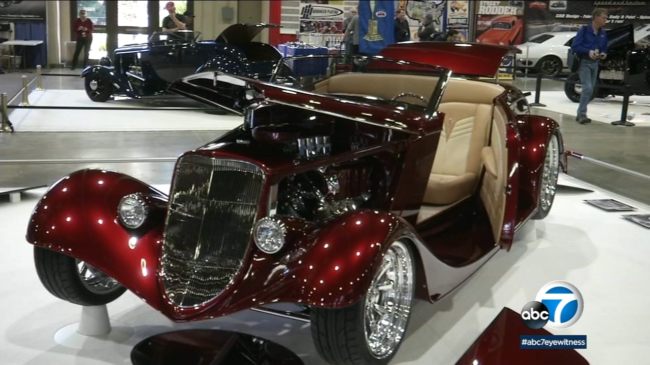 The Grand National Roadster Show in Pomona is billed as the biggest roadster show in the U.S.