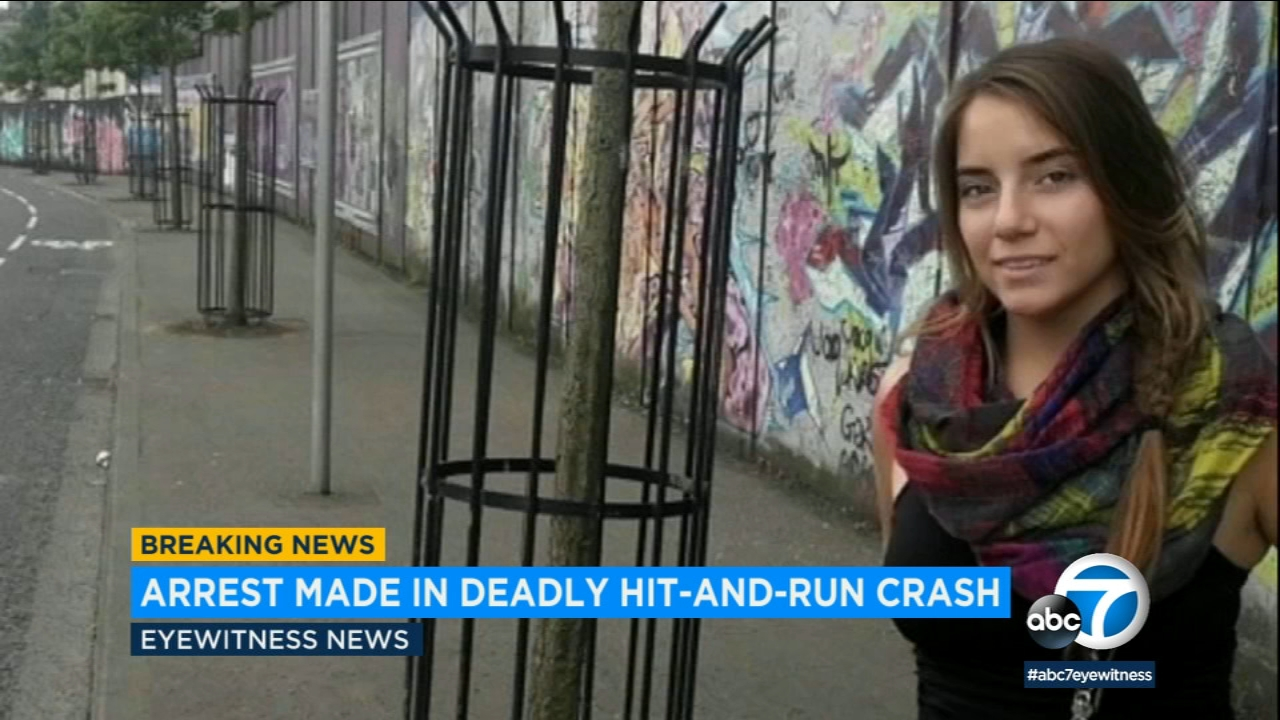 Police have arrested a driver suspected in a hit-and-run that killed 21-year-old college student Angelina Pinedo in Redondo Beach.