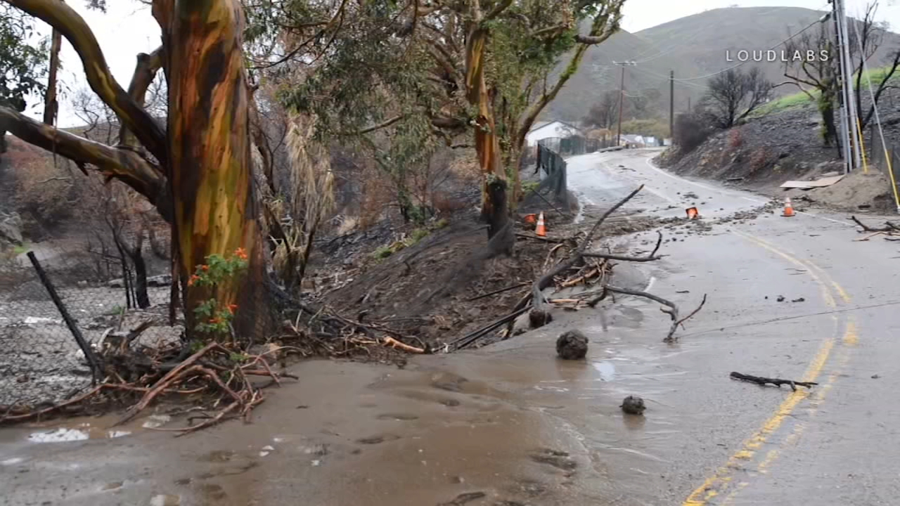 Pacific Coast Highway reopens at Ventura County line after flooding, mud prompted closure