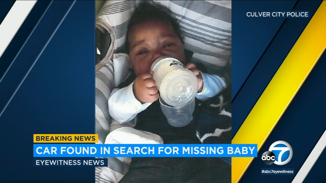 Authorities have located a stolen car associated with the case of missing Culver City infant Jacsun Manson, but have not yet located the child.