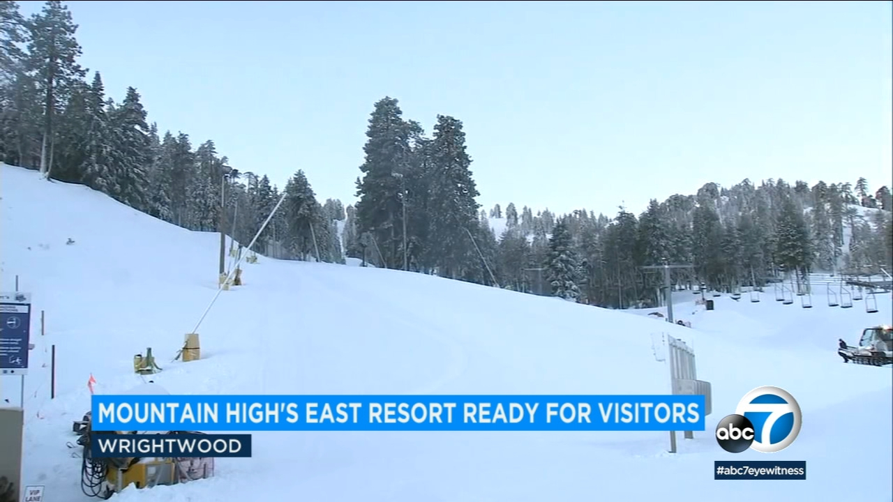 Mountain High was 100 percent open on Friday after receiving the heaviest snow in a decade.