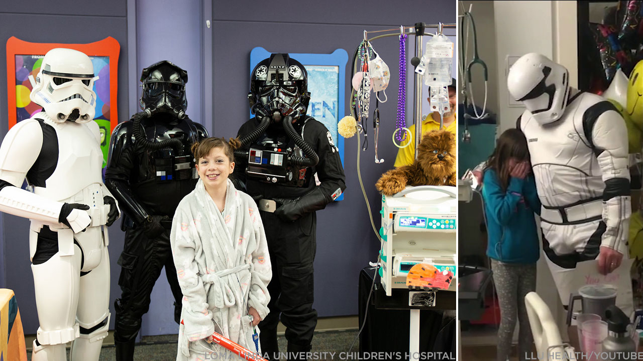 WATCH: SoCal girl on heart donor list gets 'Star Wars' surprise from doctor