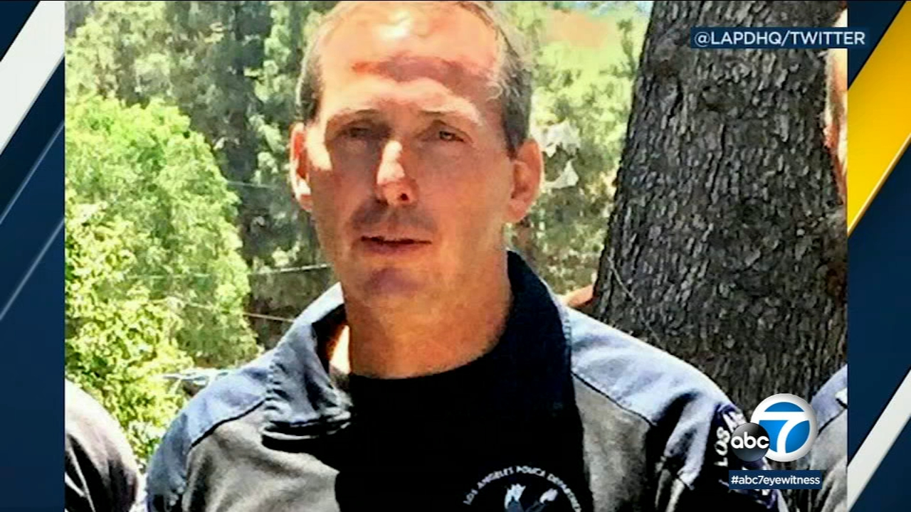 Blood, platelet donations being accepted for veteran LAPD officer with cancer