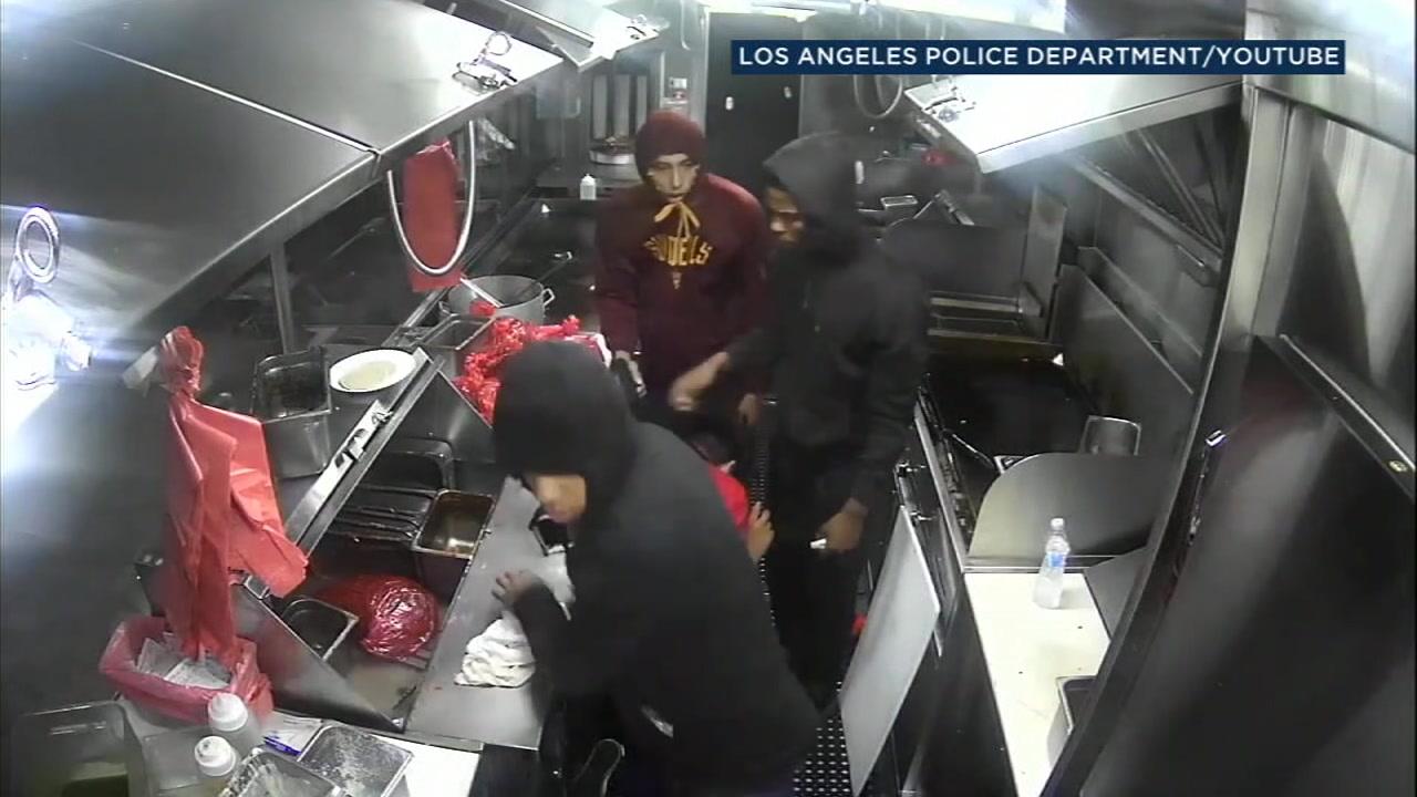 Taco truck robbery