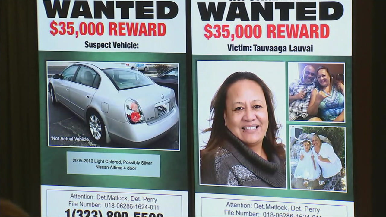 $35K reward offered in search of killer who gunned down woman outside Carson home