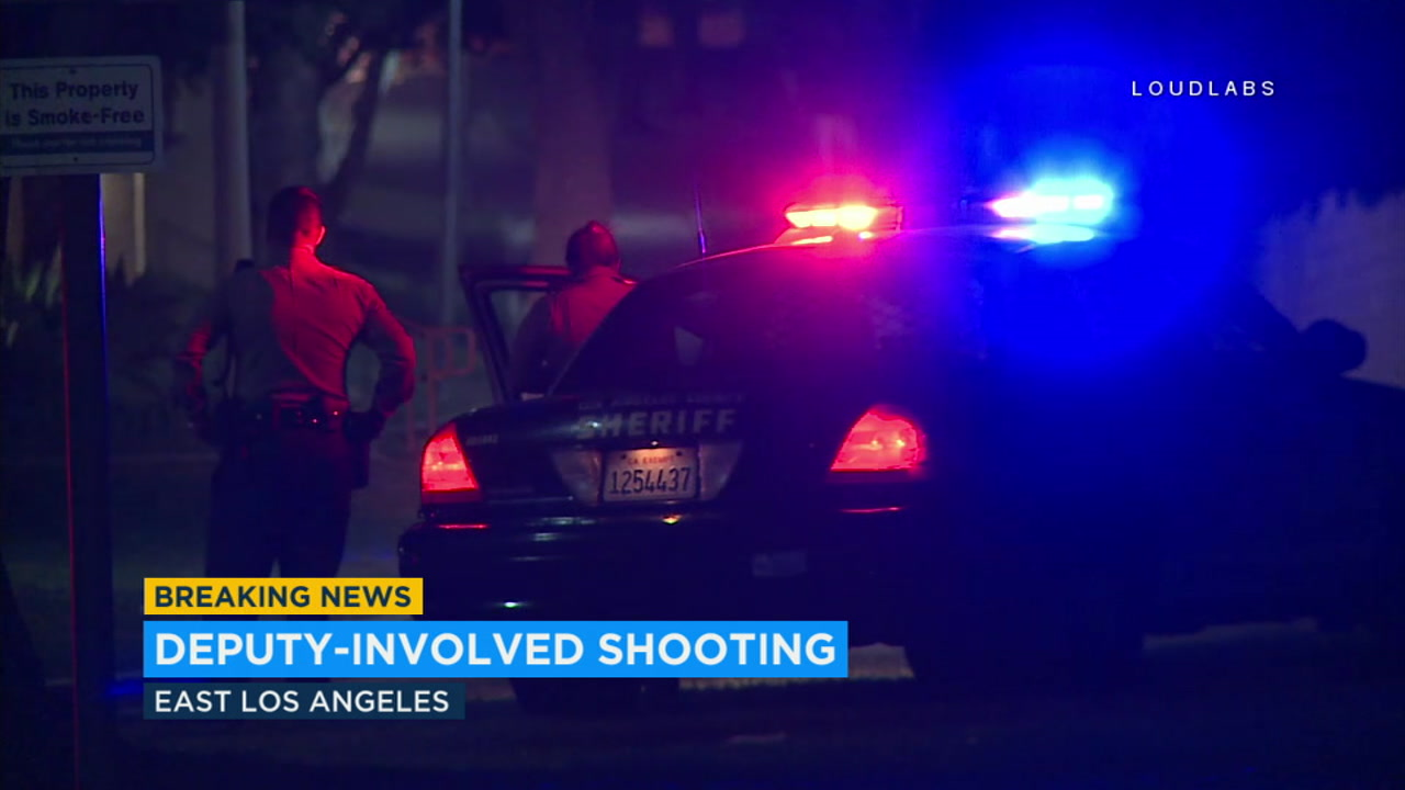 Armed robbery suspect fatally shot by deputies in East Los Angeles