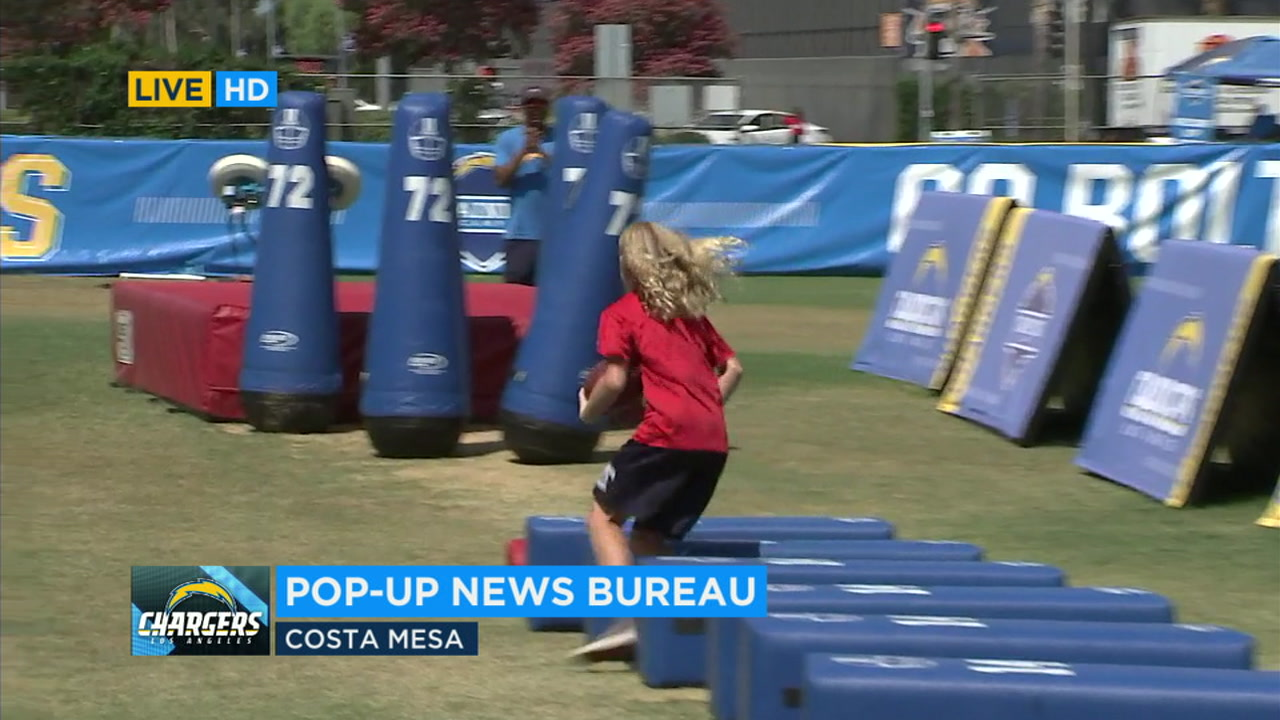 Chargers welcoming fans to experience training camp in Costa Mesa