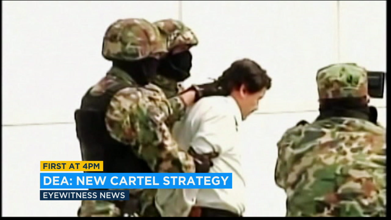 U.S. DEA officials unveiled new strategies to fight Mexican drug cartels Wednesday.