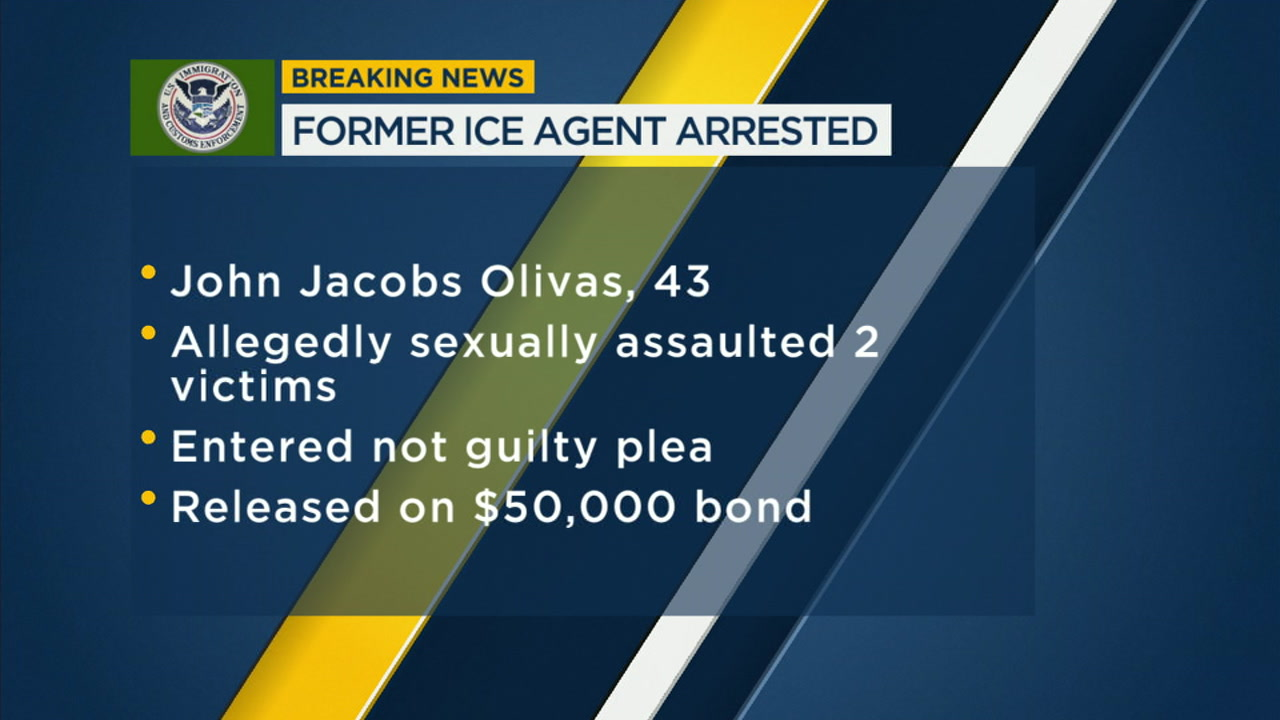 Former ICE agent from Riverside arrested for sexually assaulting 2 women