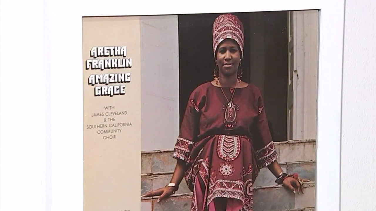 Amazing Grace was Aretha Franklins bestselling album.