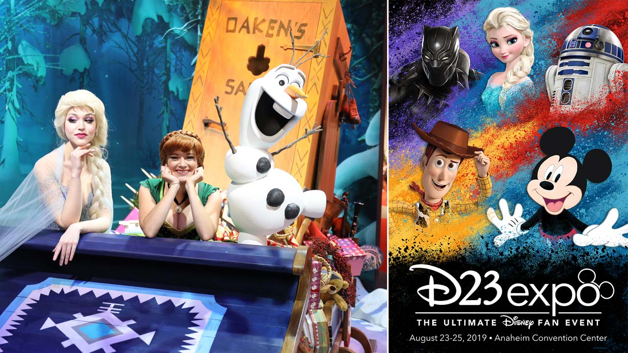 Disney released these images for the upcoming D23 Expo.