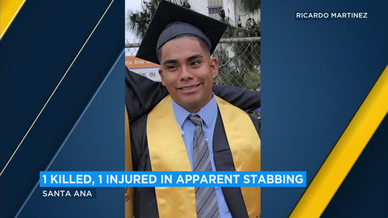 Andrew Loera, 18, a graduate of Godinez High School, was stabbed to death Saturday night at a party in Santa Ana.