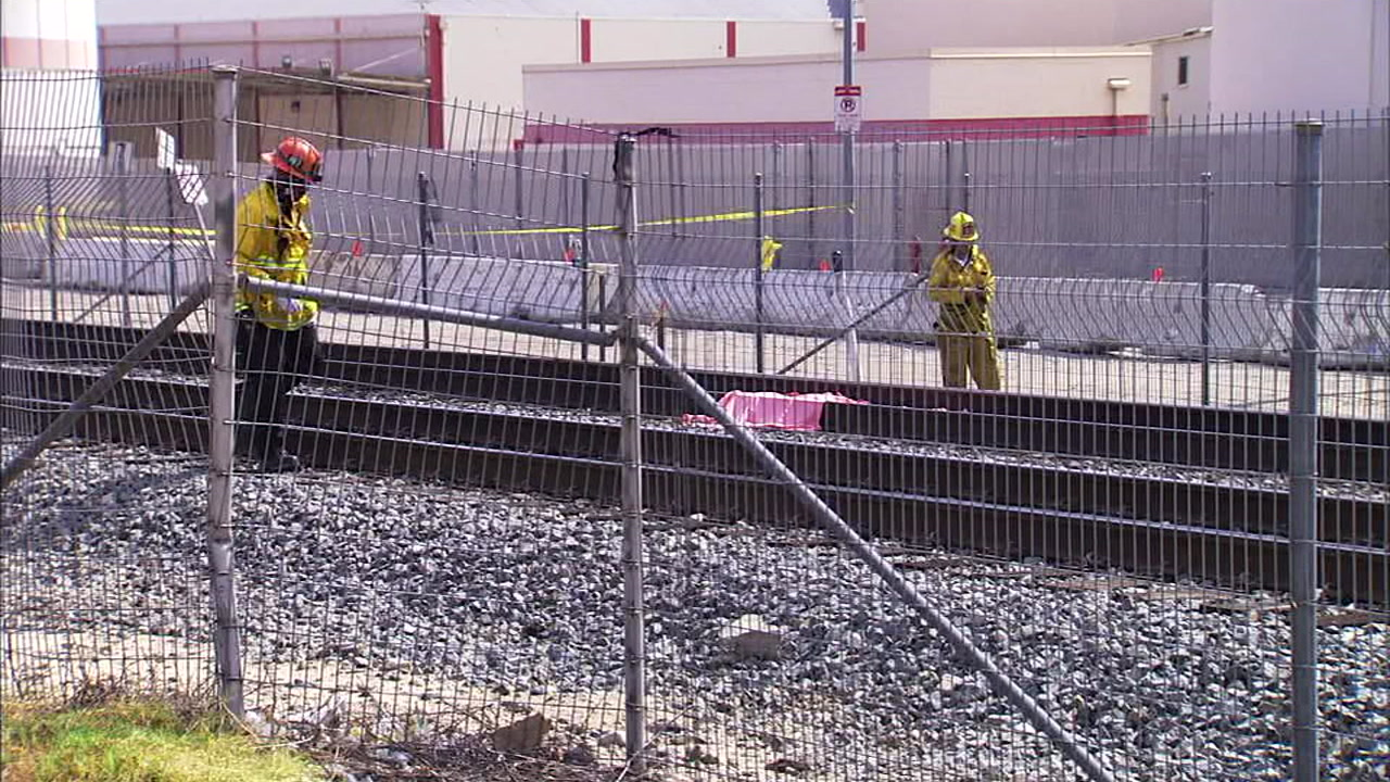 A Metrolink train struck and killed a person on the tracks in Atwater Village Monday.