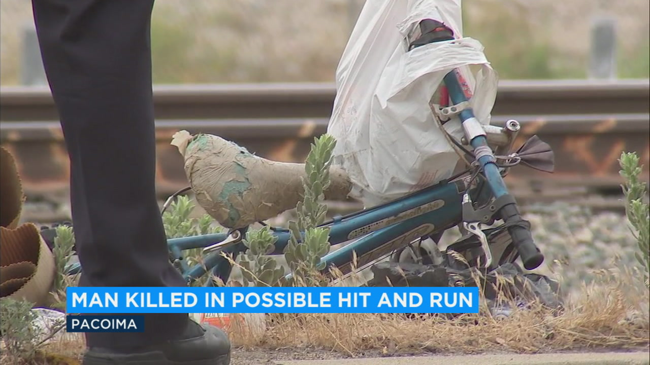 One man was found dead in Pacoima Monday morning in what may have possibly been a hit-and-run incident.