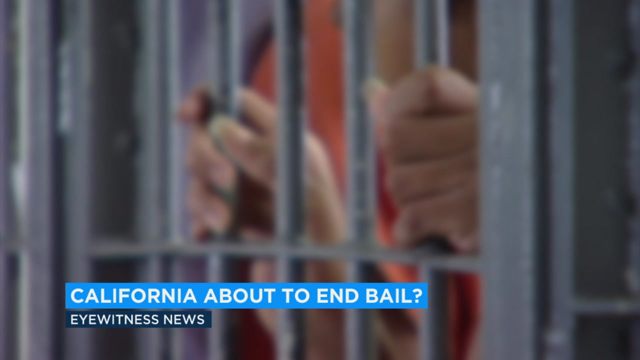California is considering an end to the current system for bail.