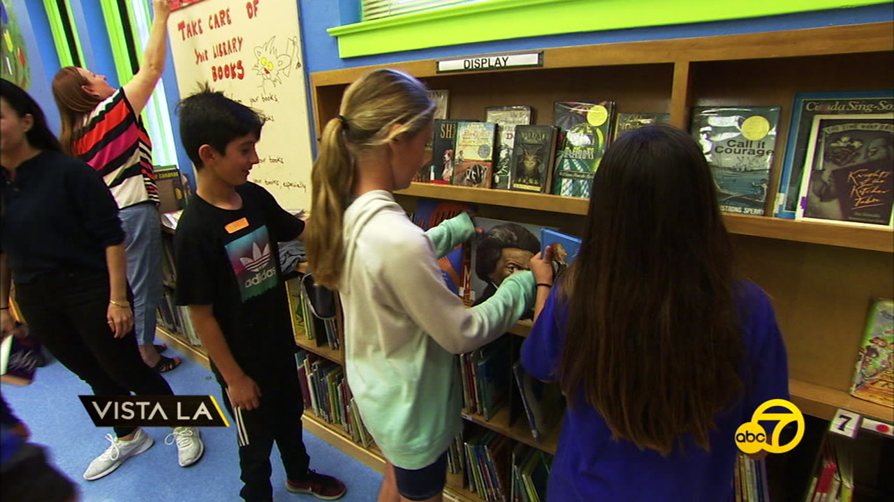 Access books, a local non-profit, is working to bring more books to school libraries.