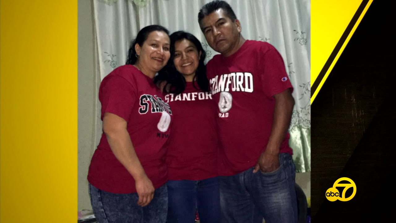 Born in South Los Angeles, Idalia Perez was separated from her father when he was deported to Mexico but she beat the odds and was accepted to Stanford.