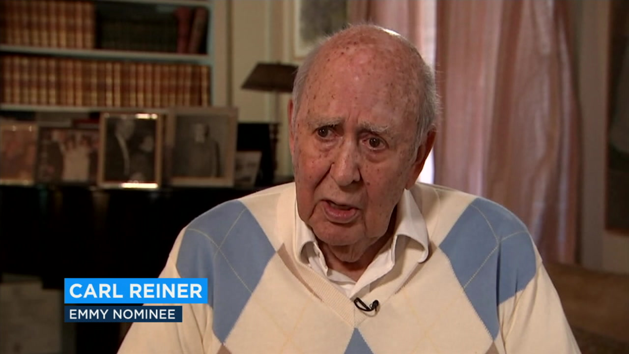 After 70 years in show business, Carl Reiner has been nominated for what could be his 10th Emmy.