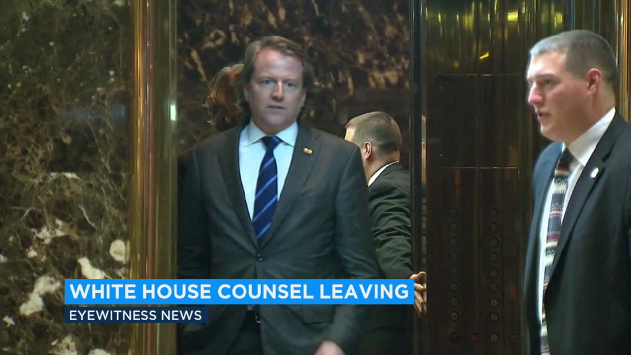 Don McGahn was a top election lawyer before serving as White House counsel to president Donald Trump.