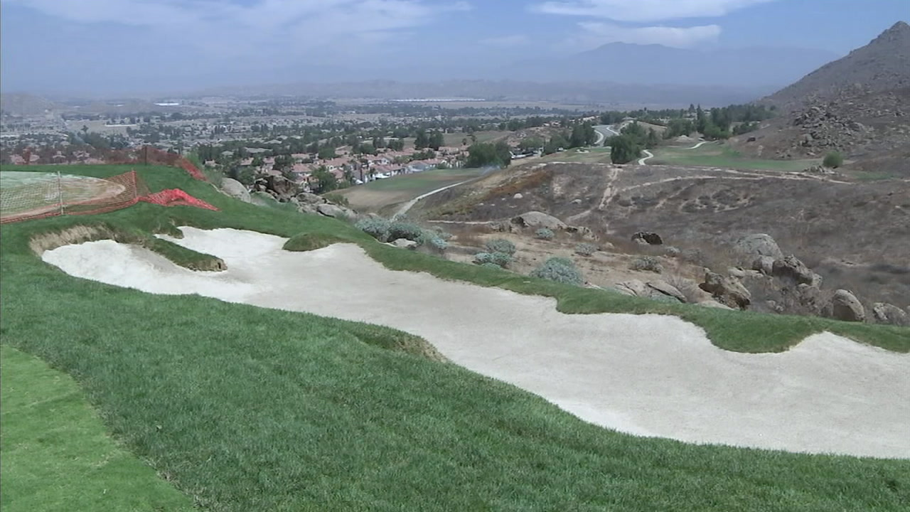Repeated acts of vandalism are delaying the reopening of a once beautiful golf course in Moreno Valley.