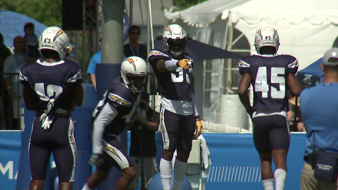 The Los Angeles Chargers are evaluating players on the bubble as the team makes final cuts to it 53-man roster by Saturday.