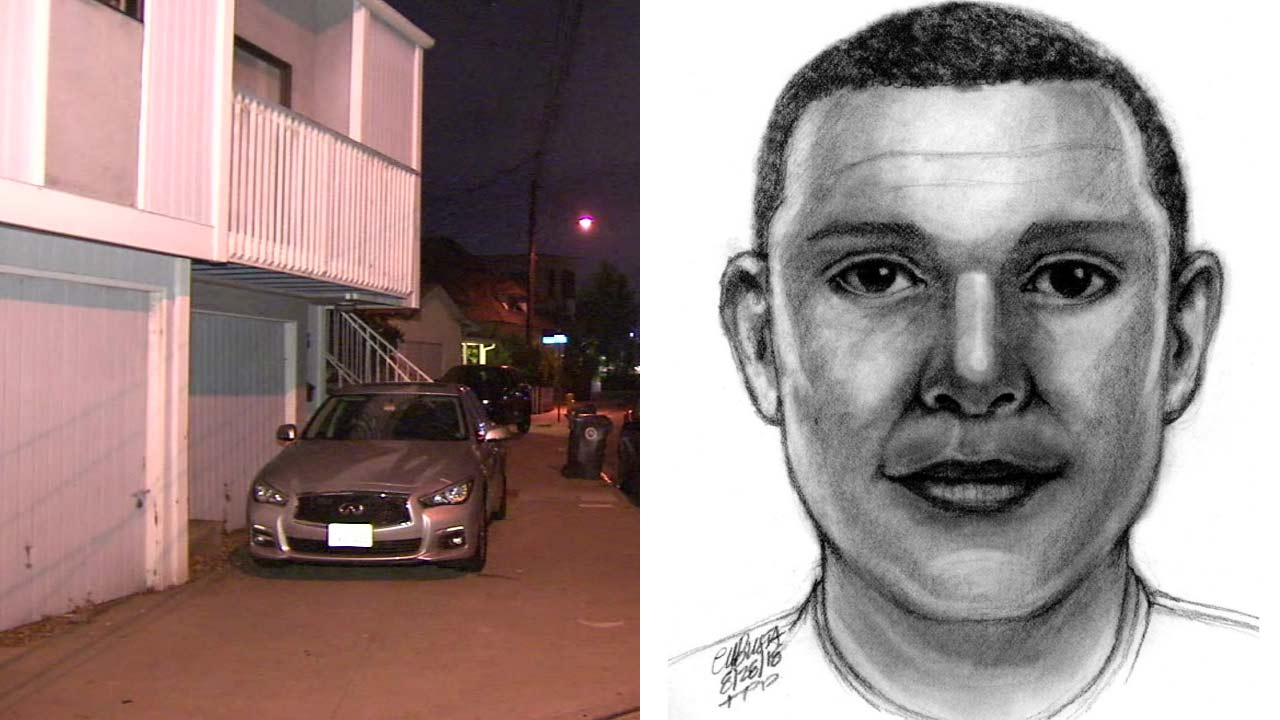 Manhattan Beach police released a sketch of a suspect accused of raping a woman at her home on Sunday, Aug. 26, 2018.