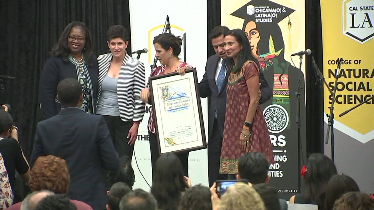 Cal State University Los Angeles on Thursday celebrated the 50th anniversary of its Chicano studies program.
