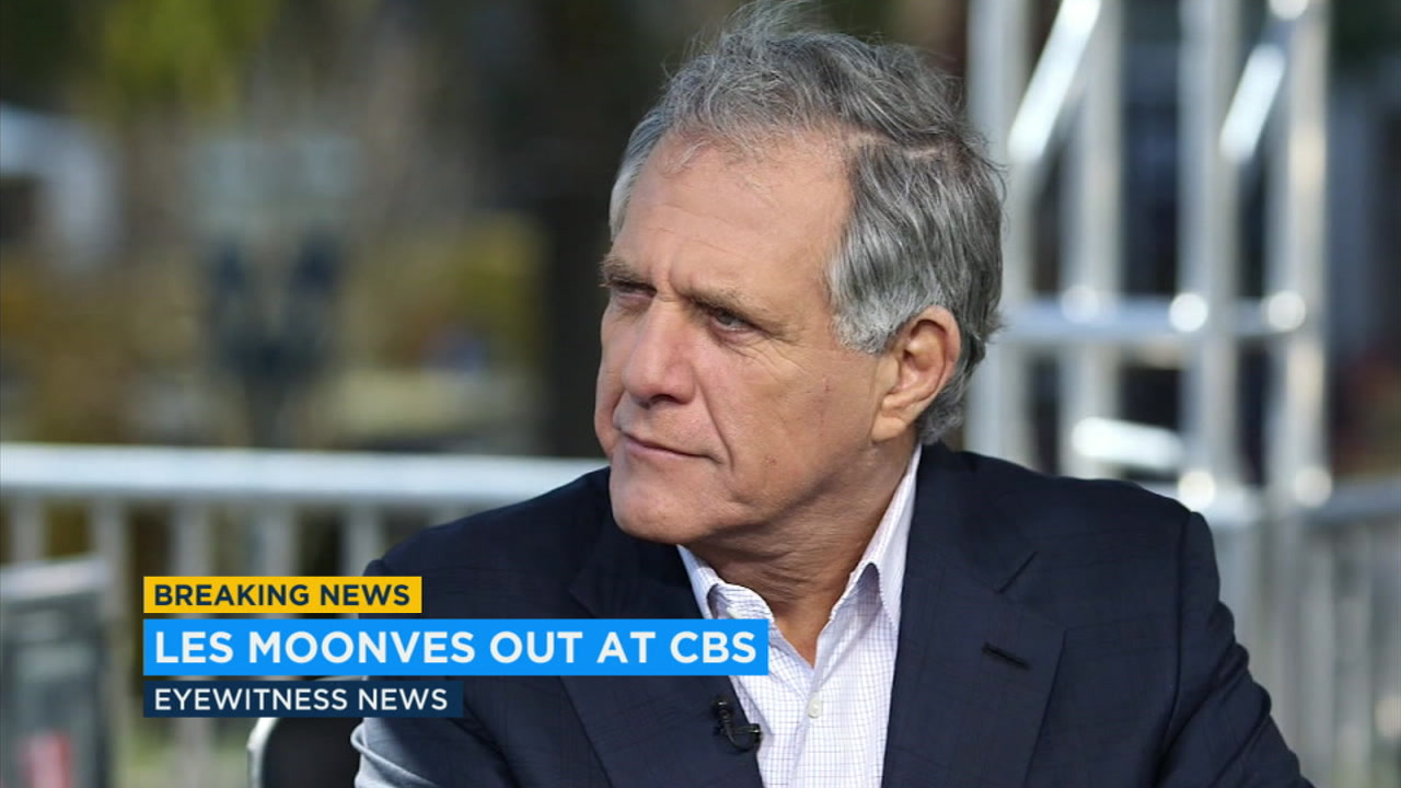 Longtime CBS chief executive Les Moonves is stepping down as he faces a new round of sexual harassment allegations, the network confirmed Sunday.