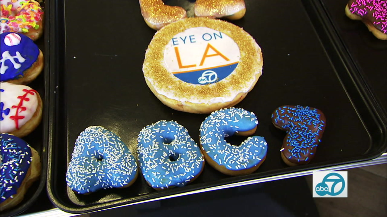 Blinkies Donuts in Woodland Hills specializes in custom, yummy treats.