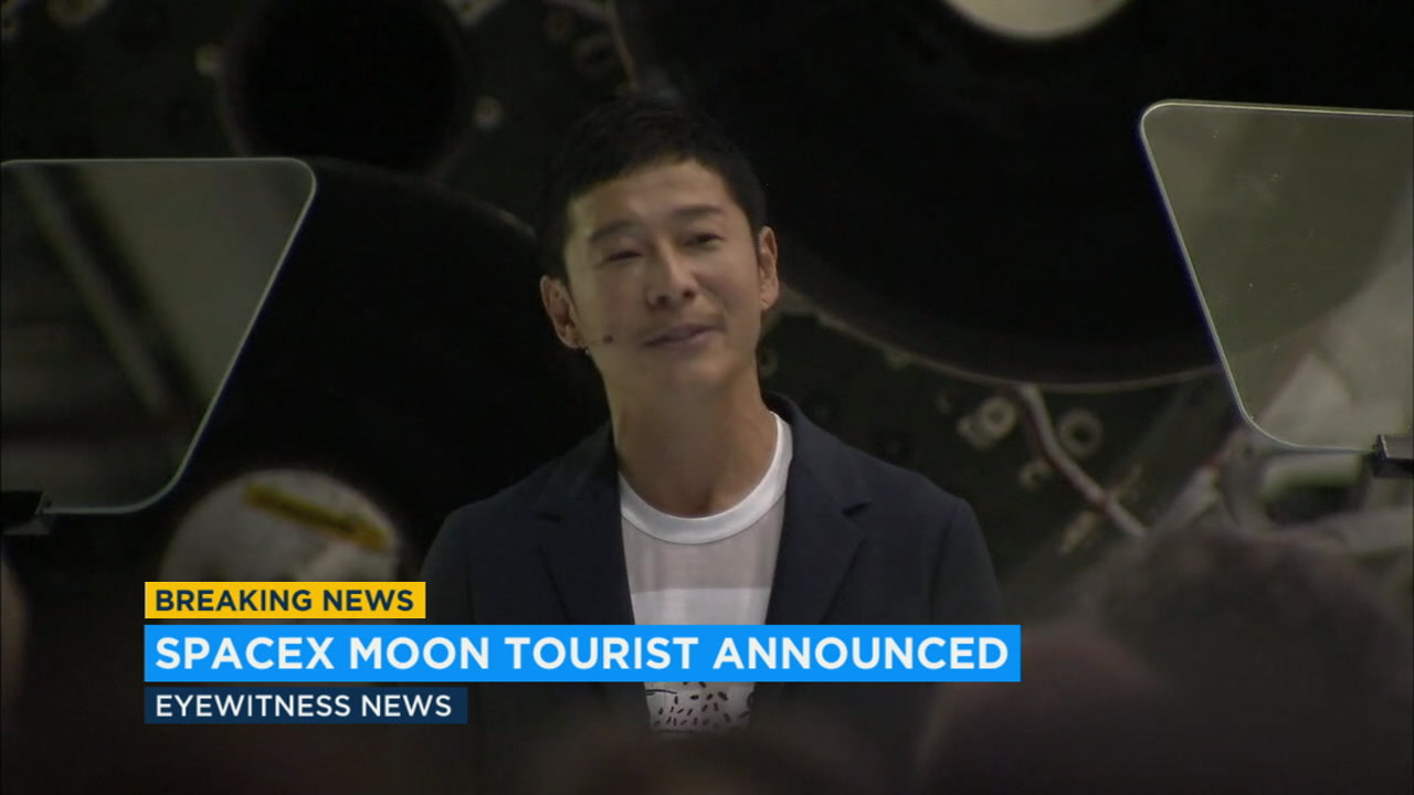 Japanese billionaire Yusaku Maezawa will be the first private passenger to travel around the moon with SpaceX.