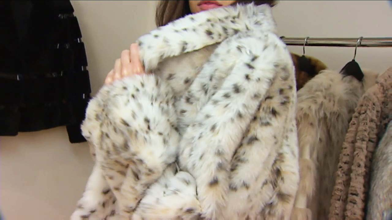 File photo of a fur coat.