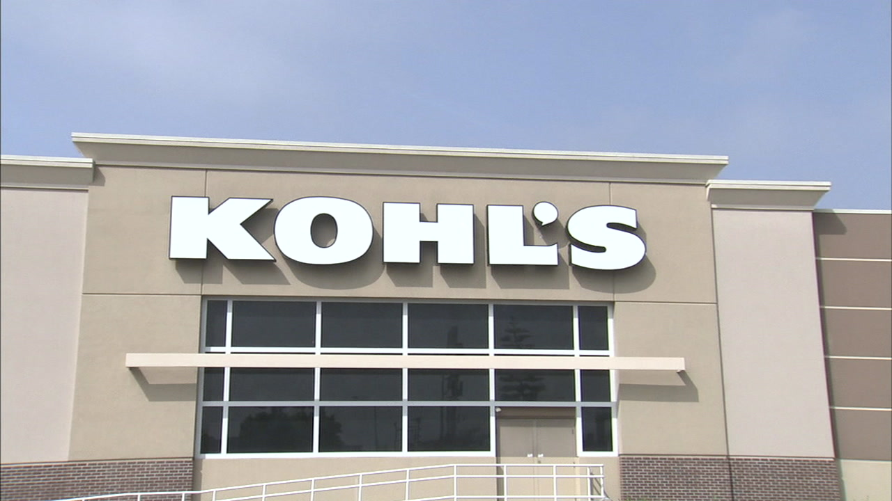 The front of a Kohls store is shown in a file photo.