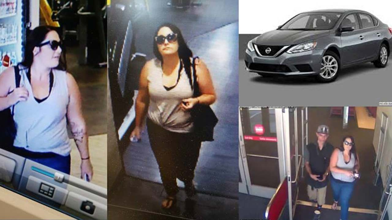 The Corona Police Department is asking for the publics help to track down a man and a woman possibly linked to a theft at a gym.