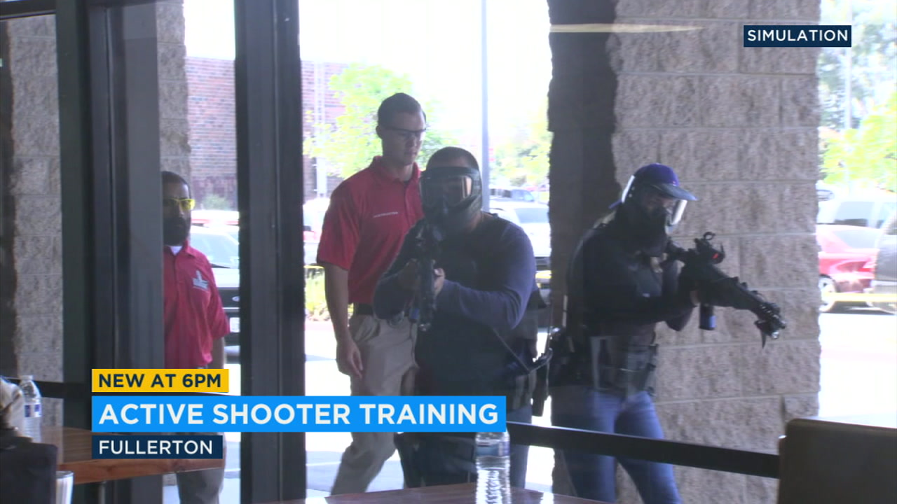 The Fullerton police department is joining a list of a law enforcement agencies beginning to use new tactics when training for an active shooter situation.