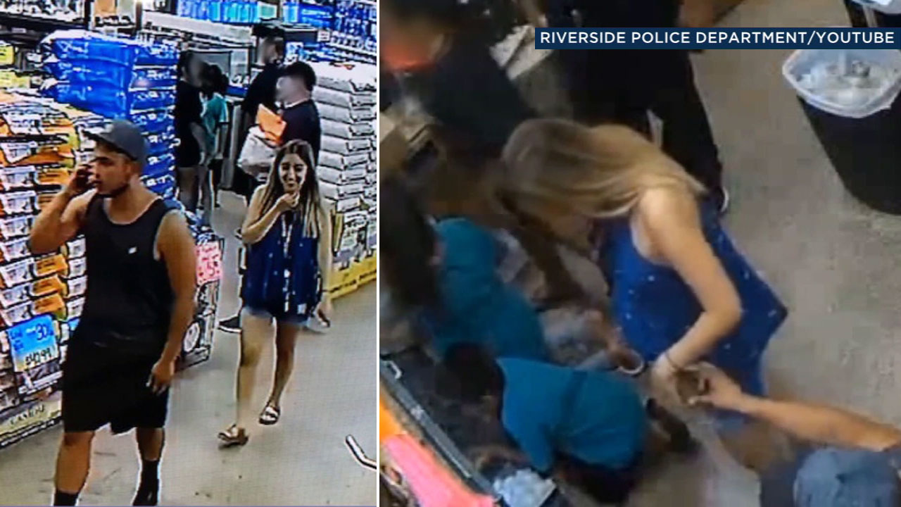 Riverside police are asking for the publics help in identifying a man and woman seen on surveillance video stealing a snake from a pet store.