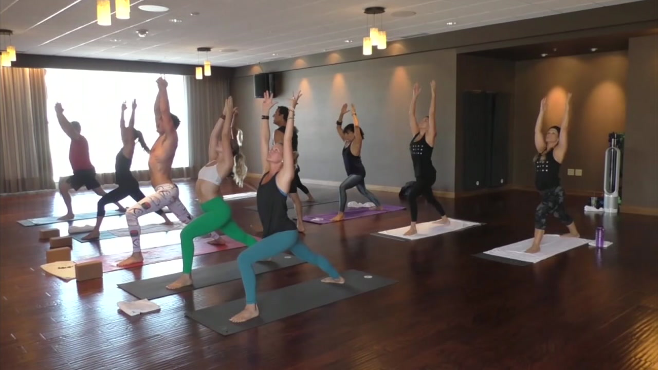 A new class offers yoga and high intensity interval training in one.