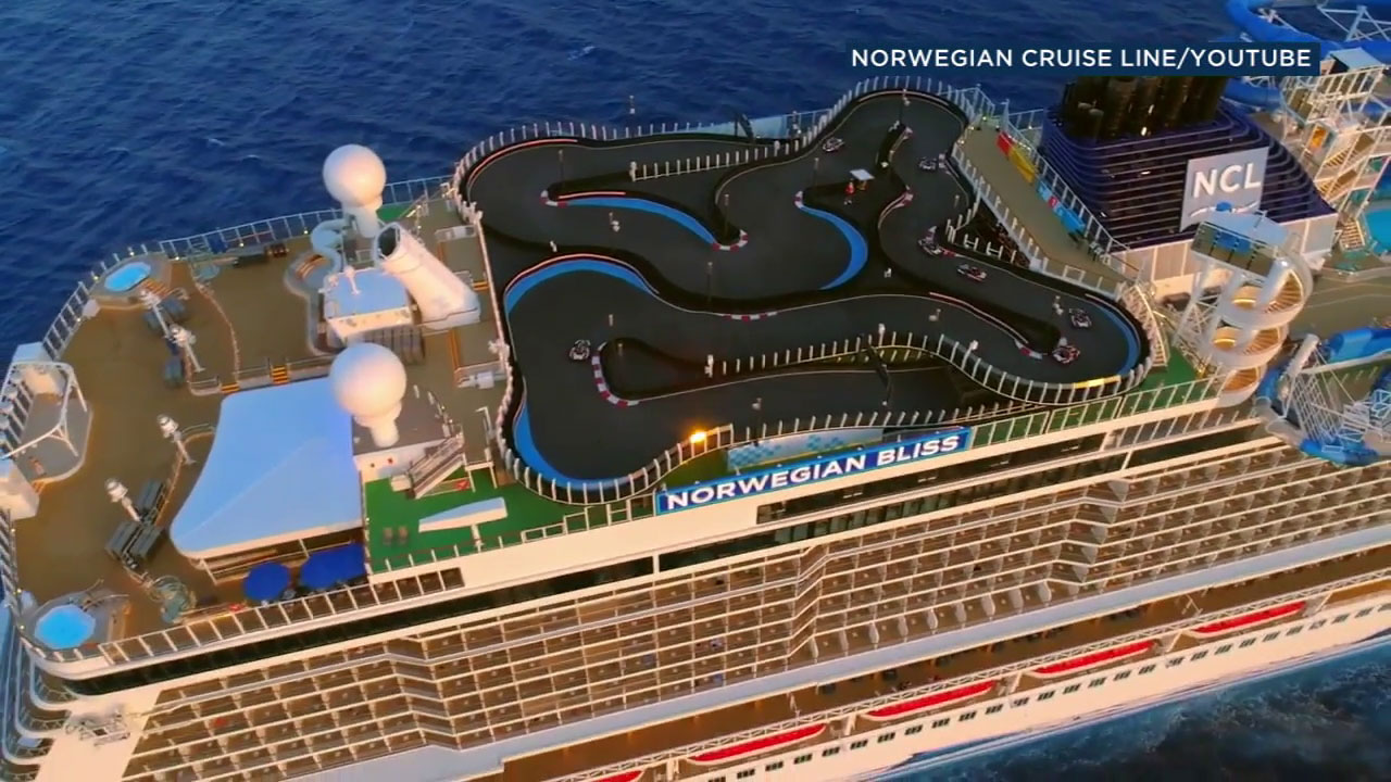 One of the worlds biggest cruise ships, Norwegians Bliss, is in LA with some 4,000 passengers aboard.