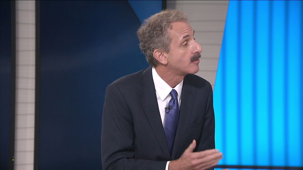 Los Angeles City Attorney Mike Feuer says the city is expanding its legal battles against the Trump administration over immigration enforcement and public safety funding.