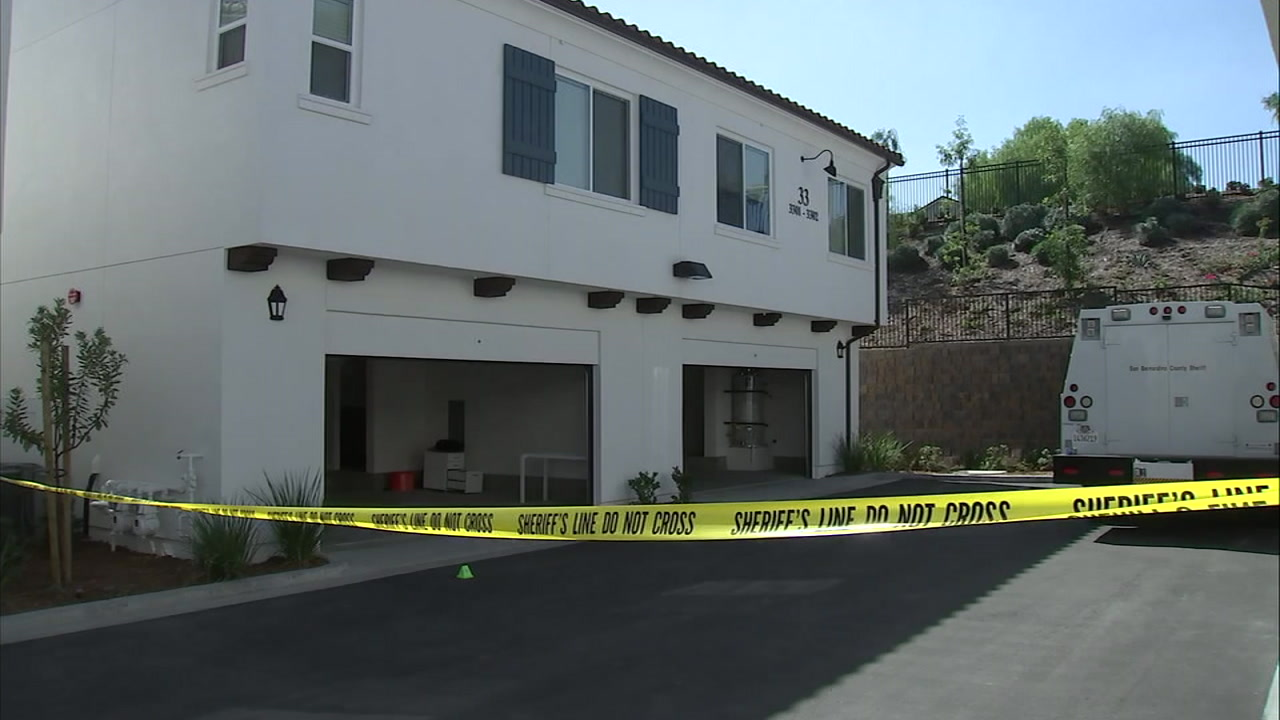 The scene of a violent home invasion robbery in Chino Hills on Tuesday, Oct. 9, 2018.