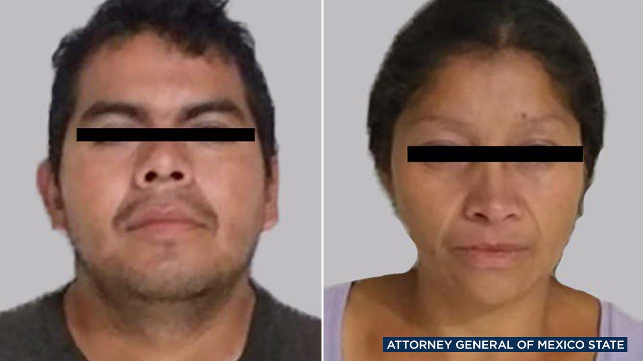 Alejandro Gomez, the chief prosecutor of Mexico State, posted these mugshots on Twitter.