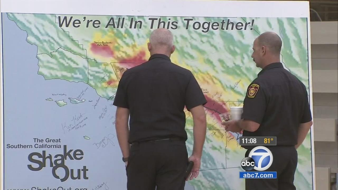 A seminar on earthquake readiness was held Wednesday to help residents prepare for disastrous shakes in the Los Angeles area.
