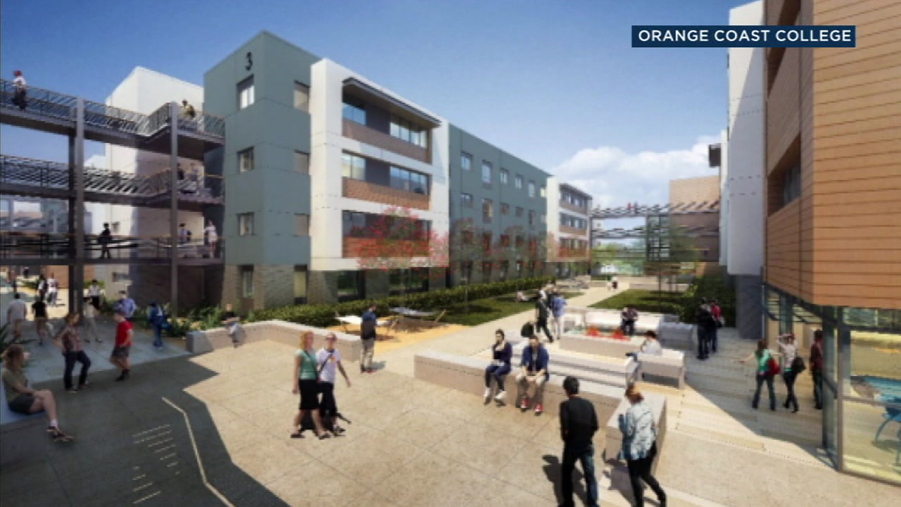 Orange Coast College is expected to become the first community college in Southern California to offer on-campus housing.