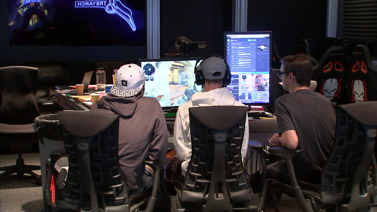 Gamers participate in a Call of Duty marathon to raise money to help veterans find jobs.