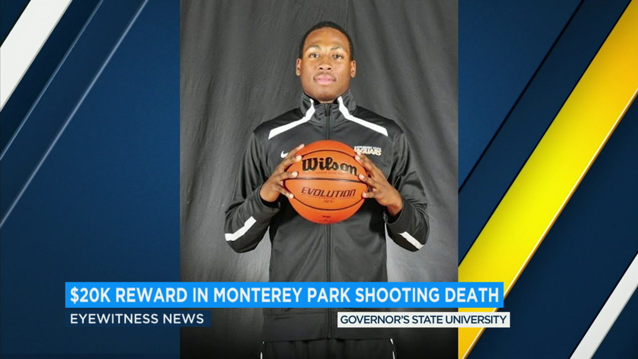 A $20,000 reward is being offered by the family of Saieed Ivey, an East Los Angeles College basketball player who was fatally shot in Monterey Park in 2016.
