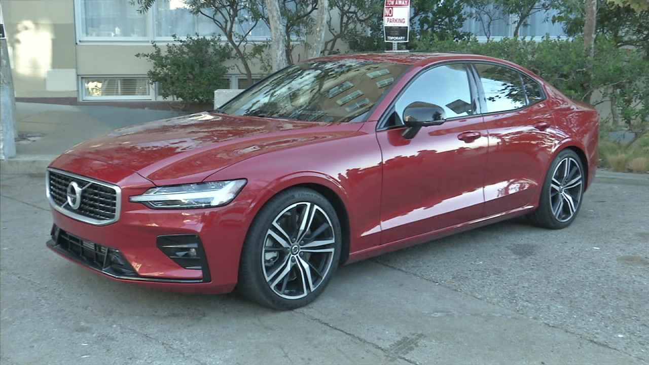 The new Volvo S60 sedan is shown in a photo.