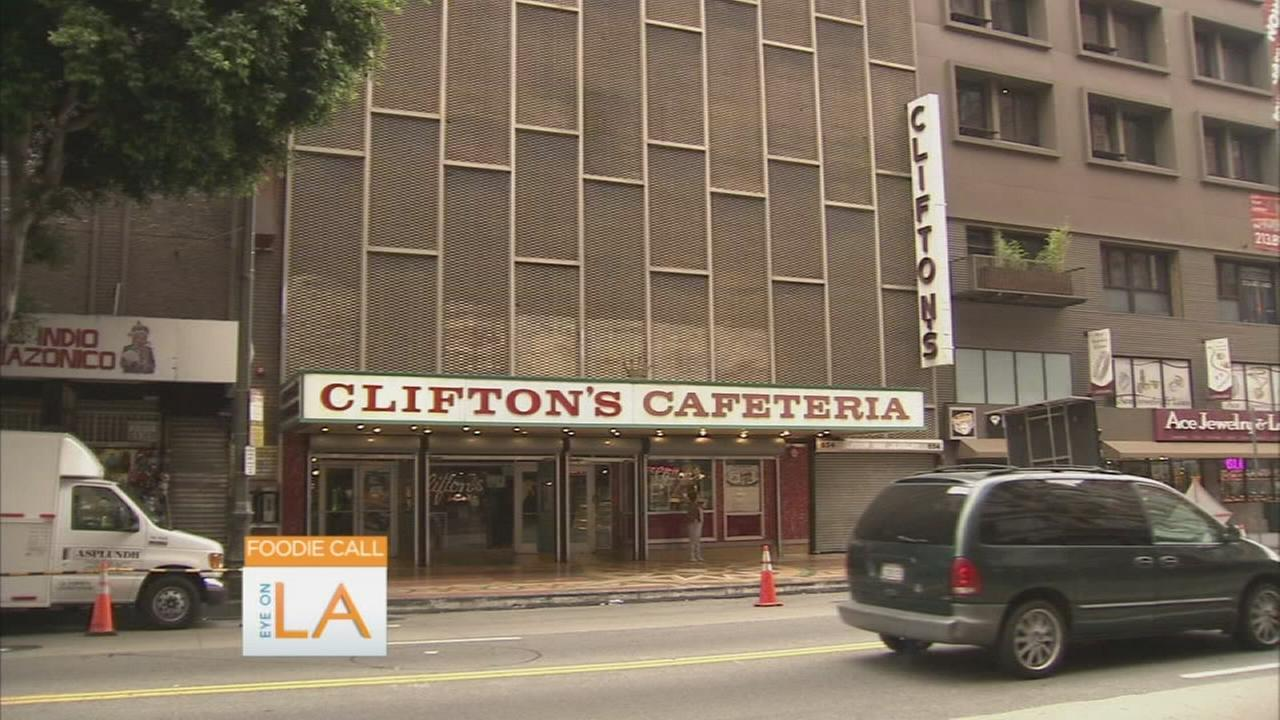 Foodie Call: Cliftons Cafeteria reopening in downtown LA