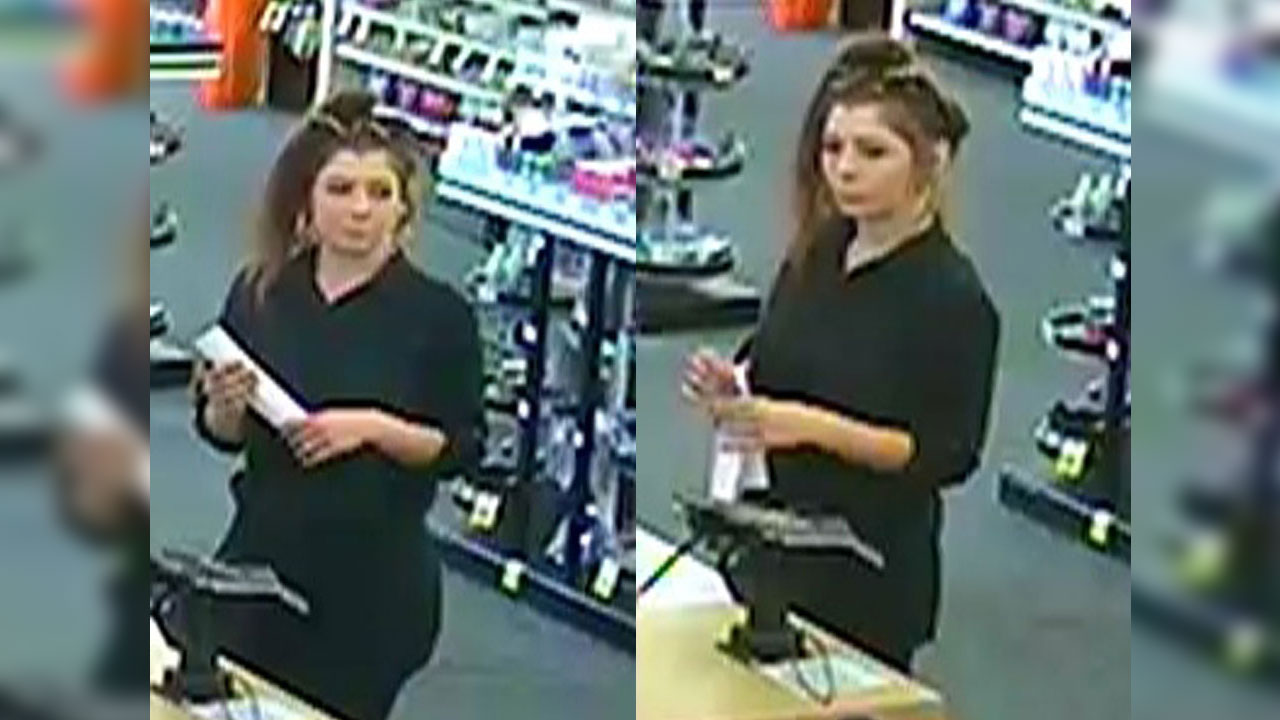 A woman caught on camera is wanted for stealing almost $1,000 from several Coinstar machines in the Thousand Oaks area.