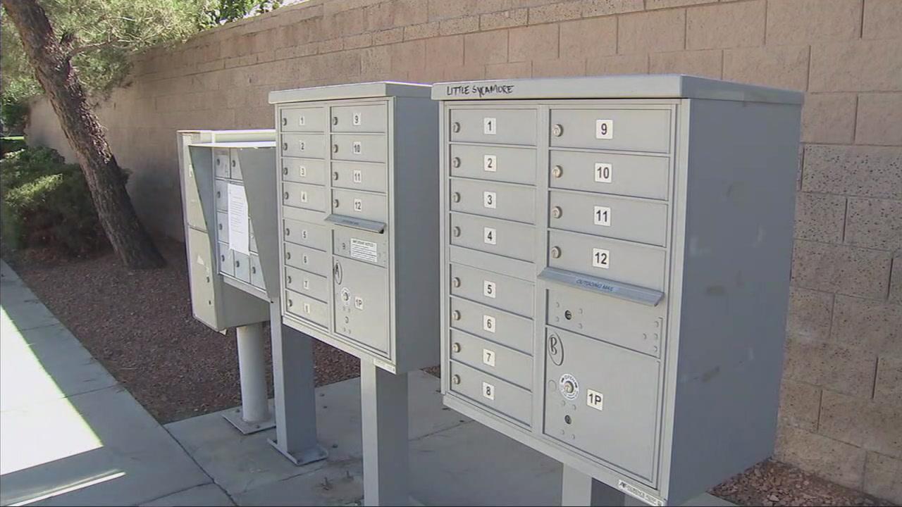 Mailbox thefts